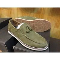 Giày lười da bò thật G103