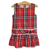 Đầm Burrerry đỏ MA063 BEVADOCHOI