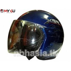 Mũ bảo hiểm cao cấp Safe CT1 Xanh mực 2 - Sơn bóng