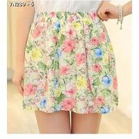 Chân váy vintage hoa nữ tính Mã: VN289 - 5