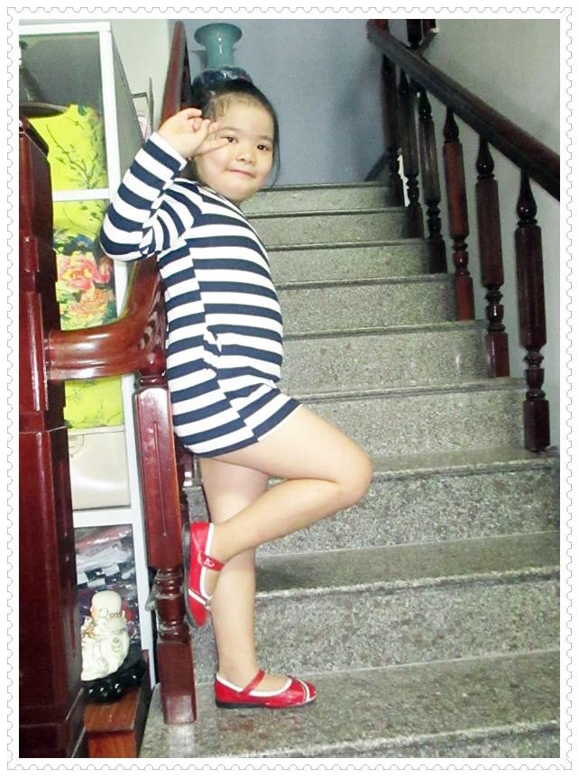 Đầm thun tay dài bé gái 6