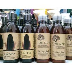 Bộ dầu gội và xả trị rụng tóc , kích thích mọc tóc LaiLa spa .