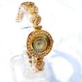 Đồng hồ Chanel mặt tròn viền hạt  Chanel01-375