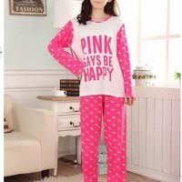 Đồ bộ dài Pink hồng - ĐB 35