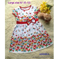 Đầm Thái lan size đại họa tiết bướm xinh