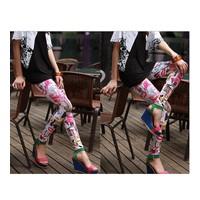 Quần legging nữ hình môi Mã: QB373 - 1