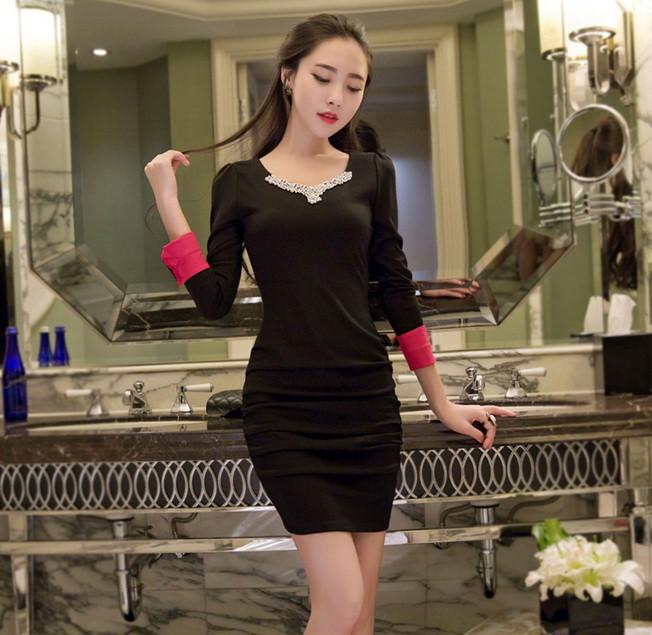 Đầm Tay Dài Săn Lai - TAMN1861 1