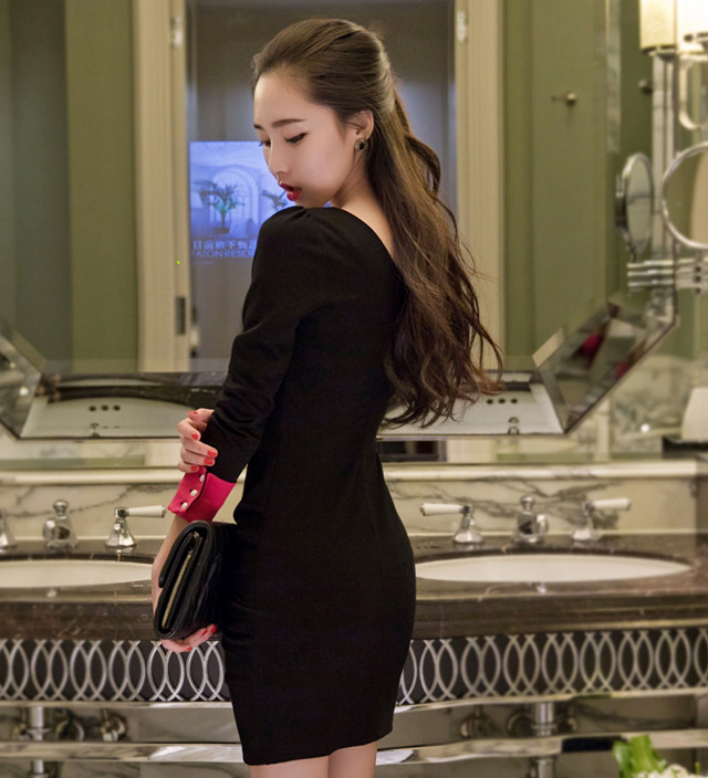 Đầm Tay Dài Săn Lai - TAMN1861 3