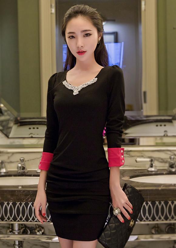 Đầm Tay Dài Săn Lai - TAMN1861 4