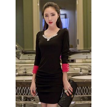 Đầm Tay Dài Săn Lai - TAMN1861