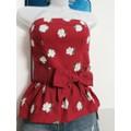 Áo cúp ngực Abercrombie hoạ tiết hoa  hàng Mỹ