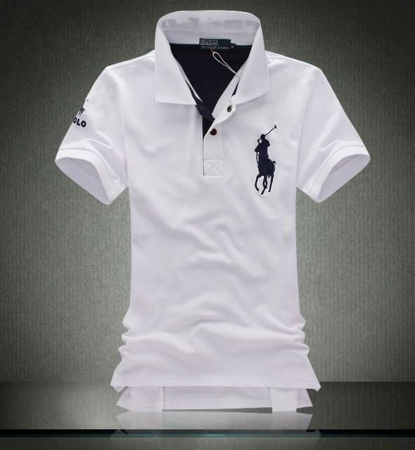 Áo polo trắng - SA582 1