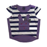 Áo hình thỏ màu tím BH199 BEVADOCHOI