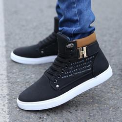 Giày thể thao nam thời trang, chất da bò mềm êm chân, thoải mái