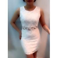 Đầm ren gấm - ren loại 1
