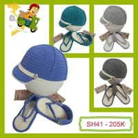 Set Giày - Mũ len cho bé trai - SH41