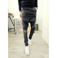 quần jeans đáy thụng đầu lâu Mã: ND0425