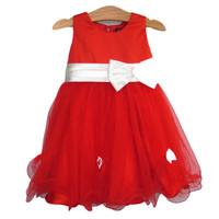 Đầm công chúa đính nơ đỏ SBT014 BEVADOCHOI
