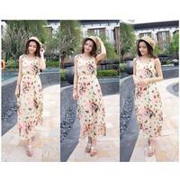 Đầm Maxi Họa Tiết Bướm Xinh YKX10