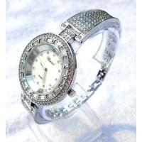 Đồng hồ Chopard bạc mặt tròn viền hạt CHOPARDBACTRON01-465