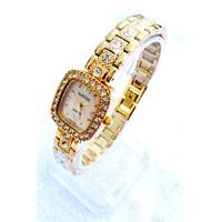 Đồng hồ Cartier mặt vuông viền hạt CATIERVUONG01375