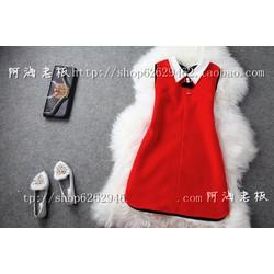 Đầm đính cườm xinh xắn cho bạn gái ddp08162