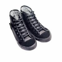 Giày cổ cao chất liệu PU nữ
