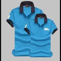 Áo Thun Cặp Polo Hai Con Ngựa MK8001-S155- HÀNG LOẠI 1