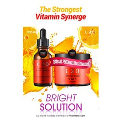 Serum chiết xuất từ cam bổ xung vitaminC dùng cho vùng mặt và cổ