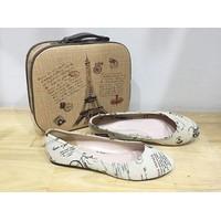 VT1 - Giày búp bê Vintage cực xinh