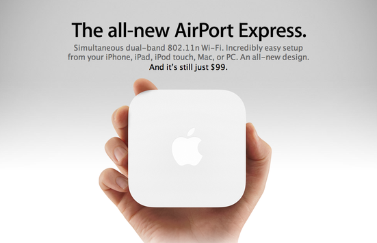 Thiết bị phát Wifi AirPort Express Base Station 2