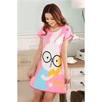 Váy Dễ Thương Thỏ Hồng
