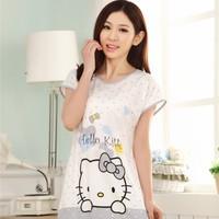Váy Ngủ Hoạt Hình Hello Kitty