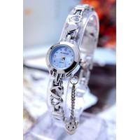 Đồng hồ nữ chính hãng Kimio kiểu lắc tay trái tim