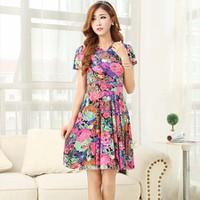 Váy Hoa Thời Trang
