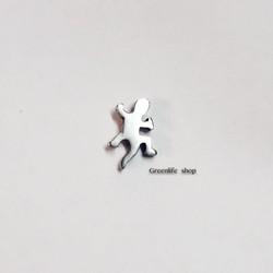 [Greenlife Shop] Khuyên tai Inox thằn lằn - BX425