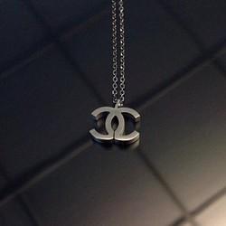 [Chuyên Bỏ Sỉ ] DX523 - Dây chuyền biểu tượng Chanel khối