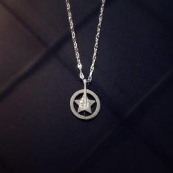 [Chuyên Bỏ Sỉ ] DX516 - Dây chuyền Inox ngôi sao tròn