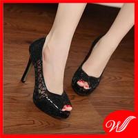 Giày cao gót ren G-122.1