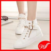 Giày boot đế bằng G-142.2