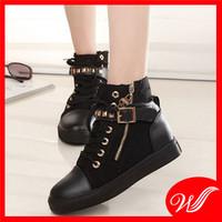 Giày boot đế bằng G-142.1