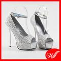Giày cao gót ren G-166.1