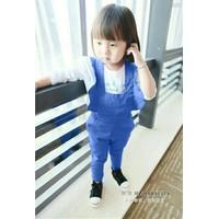 Bộ quần yếm dễ thương xanh XN051