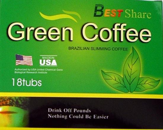 Trà giảm cân GREEN COFFE USA 3