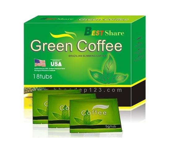 Trà giảm cân GREEN COFFE USA 4