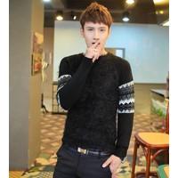 áo len nam tay thổ cẩm Mã: NT1083