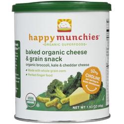 Bánh Khúc Organic Happy Vị Phô Mai - Cải Súp Lơ
