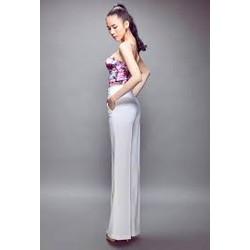 THỜI TRANG HOTGILR - Quần suông thiết kế đơn giản mặc đẹp như Thái Hà