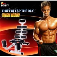 Bộ SP: Thiết bị tập thể dục toàn thân New Body + Máy massage xung điện