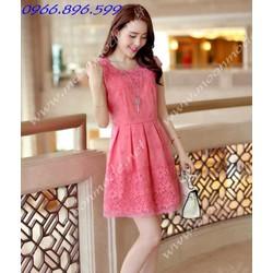 Đầm xòe ren xinh yêu - Mã MM80143